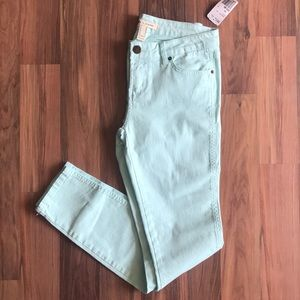 Life in Progress Skinny Pastel Jeans- Size 28